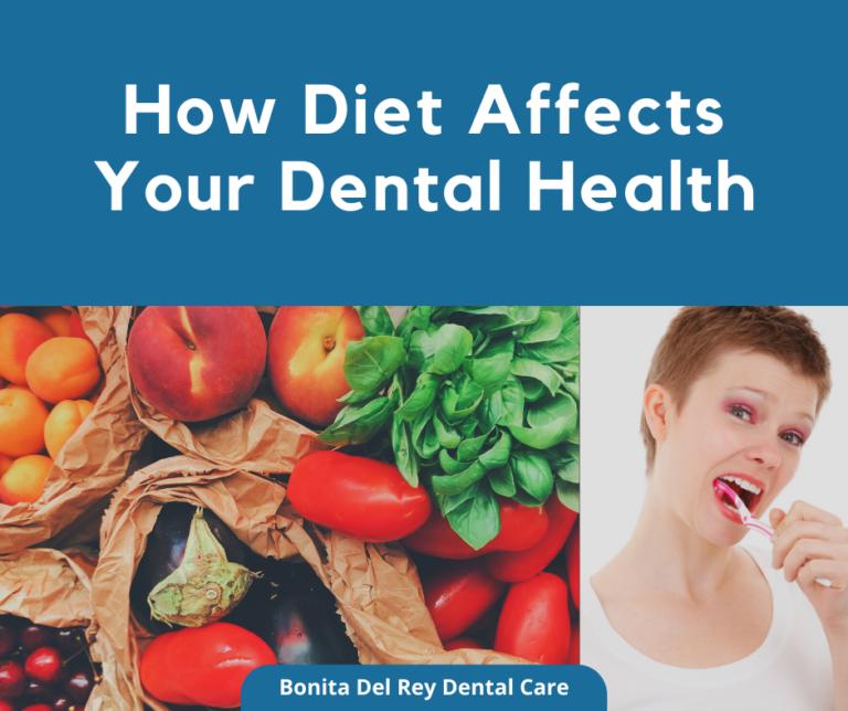 how diet affects dental health